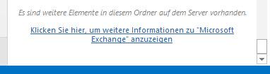 Outlook Offlineoptionen