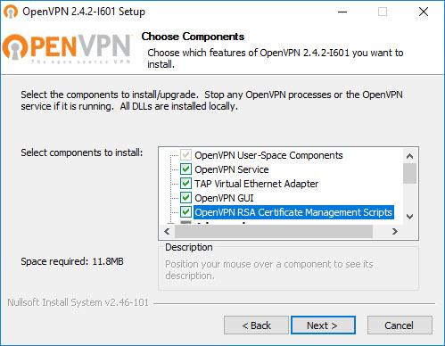 OpenVPN unter Windows Server 2012 R2 / Server 2016 und