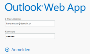 Exchange 2013 Webmail Hans Muster Login