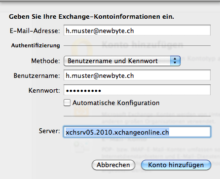 exchange-kontoinformationen-server-01